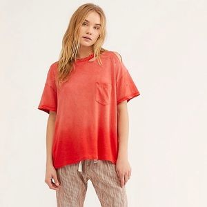 ❤️Free People We the Free Lucky Tee NWT